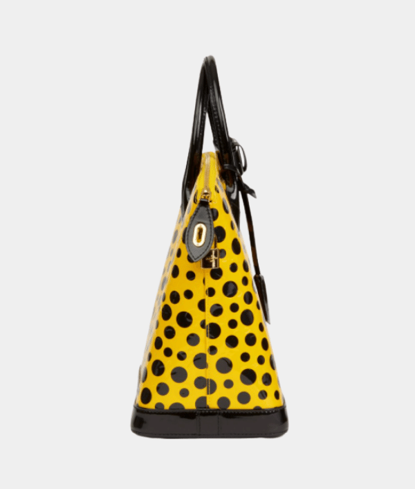 LOUIS VUITTON VERNIS LEATHER DOTS INFINITY YAYOI KUSUMA LOCKIT MM