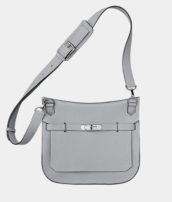 HERMES JYPSIERE 28 ETAIN GREY WOMENS HANDBAG
