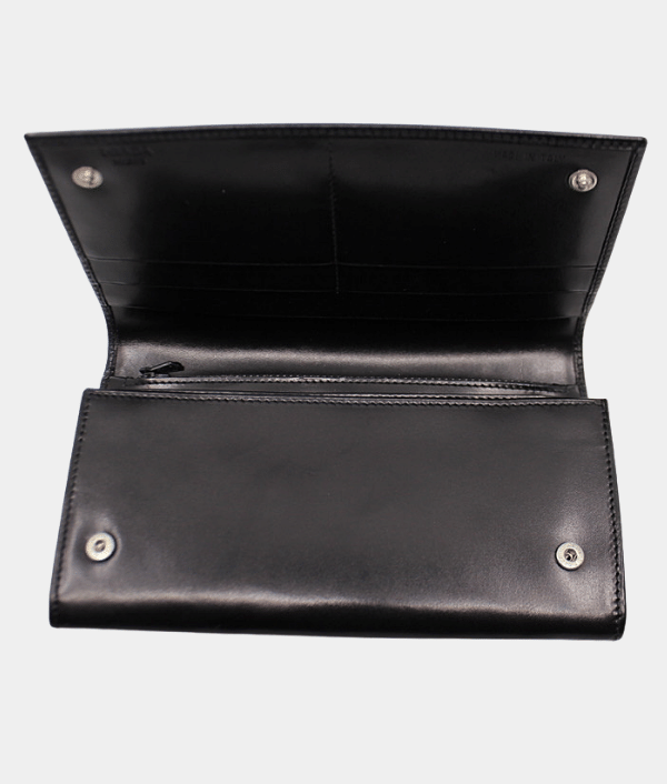 Prada Classic Long Leather Wallet.