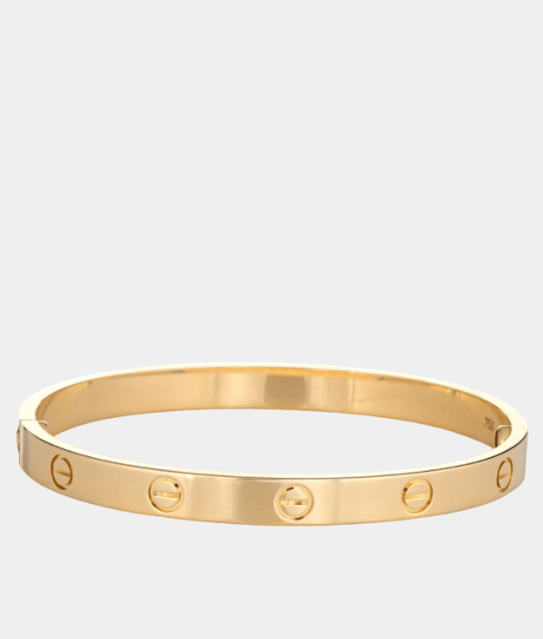 Cartier Love Bracelet 18 Carat Yellow Gold - Size 18