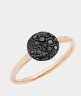 Pomellato Sabbia Pave Black Diamonds Ring