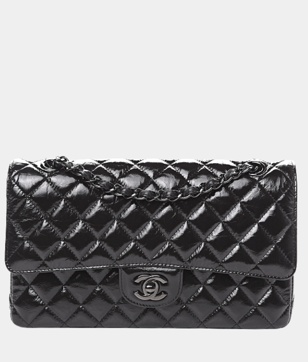 Chanel So Black Classic Double Flap - Rare & Collectable.