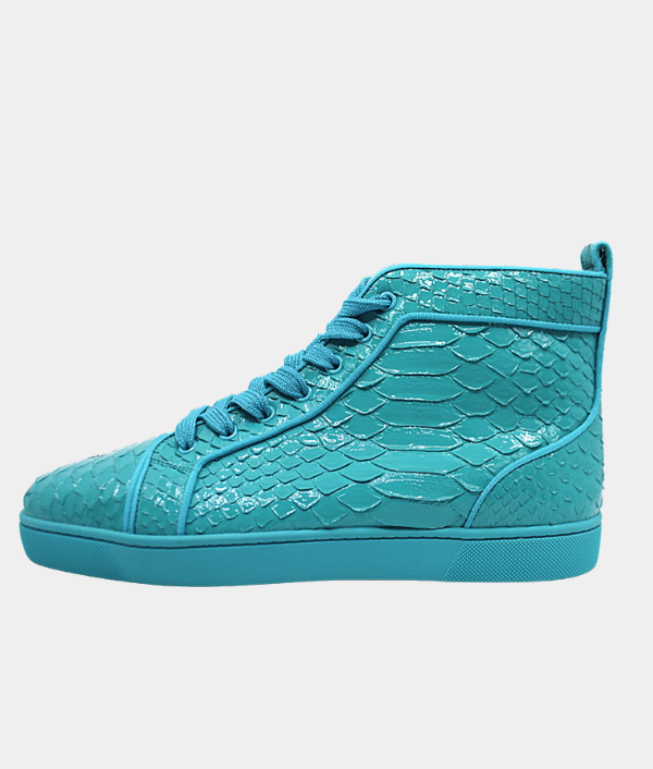 Christian Louboutin Python Leather Mens Sneakers - 42.5