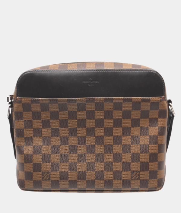 Louis Vuitton Damier Ebene Mens Messenger Bag