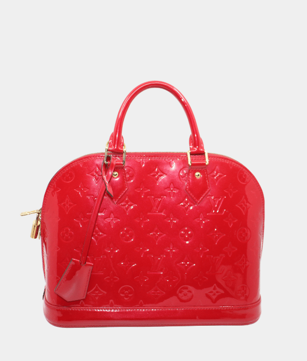 LOUIS VUITTON VERNIS ALMA GM BAG