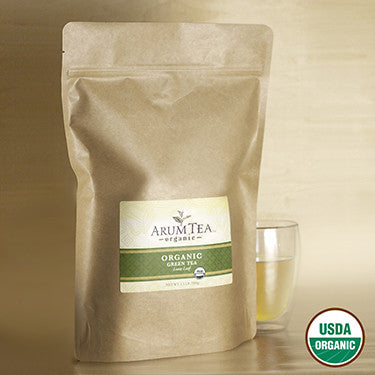 JAVA EMERALD. Organic Green Tea (1.1lb/500gr)