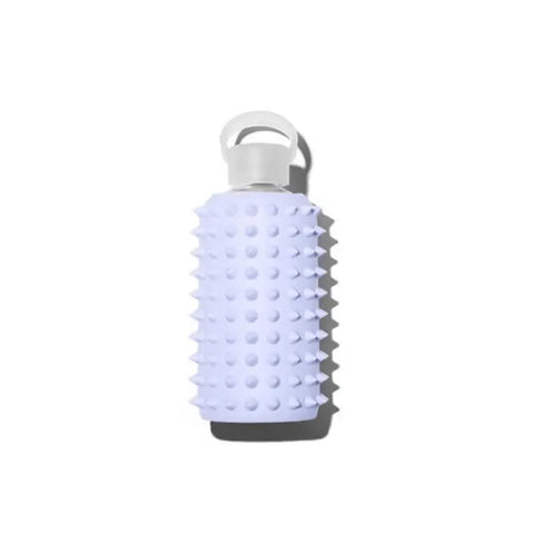 Periwinkle Blue Spiked BKR Glass Water Bottle--500mL