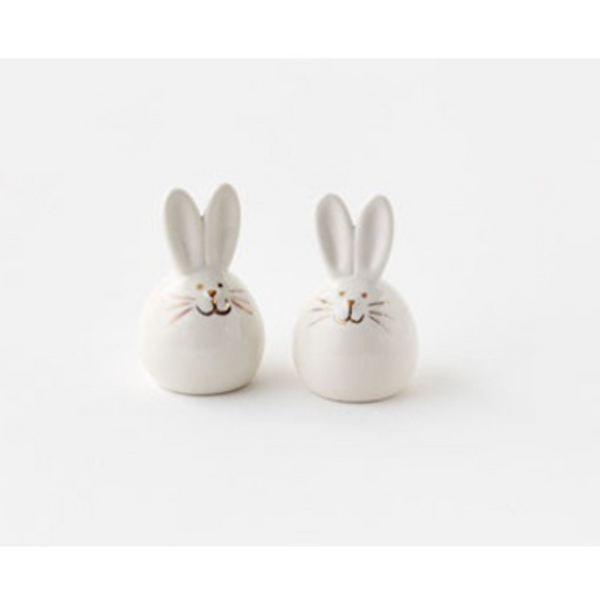 Easter Bunny Salt & Pepper Shaker Set