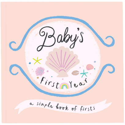 Little Beach Babe Memory Book: Baby's First Year