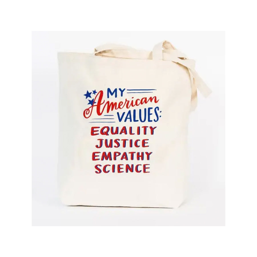 My American Values Tote Bag