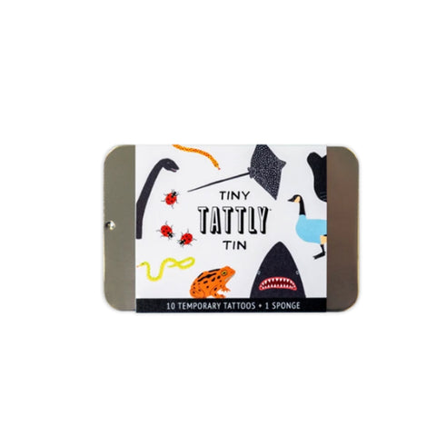 Wild Animals Tiny Tattoo Tin