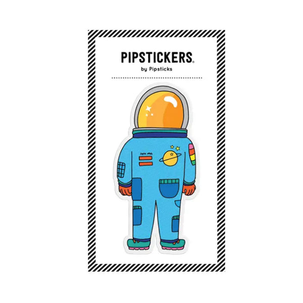 Space Astronaut Puffy Sticker