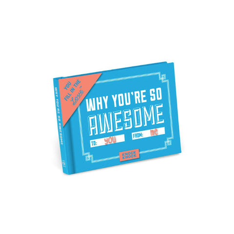 Why You're So Awesome Fill in the Love Mini Journal