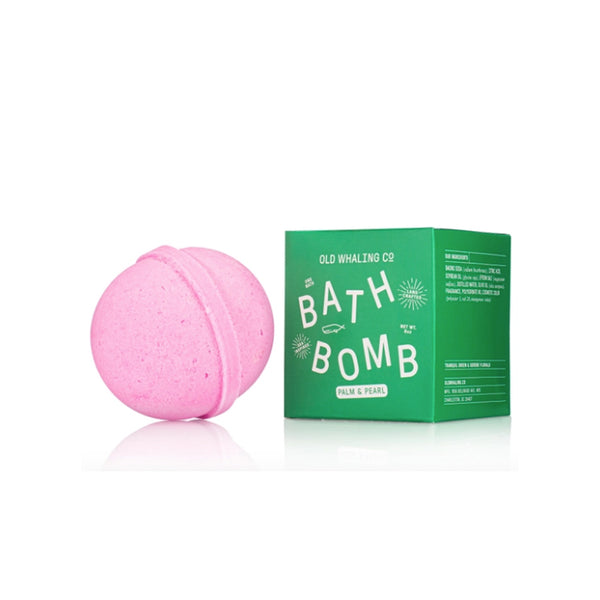 Palm & Pearl Bath Bomb