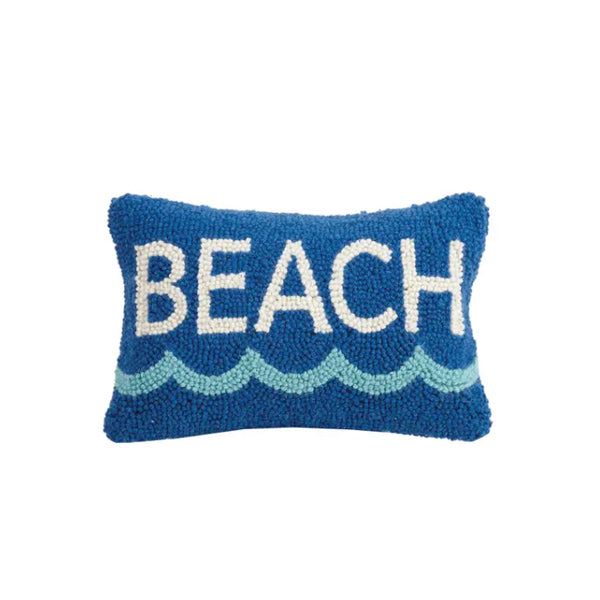 Beach Mini Lumbar Hook Pillow