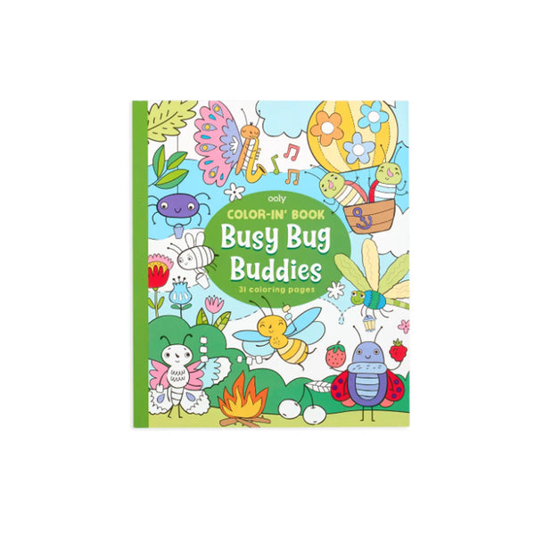 Busy Bugs Coloring Book