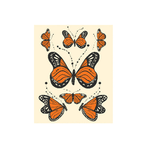 California Monarchs Art Print