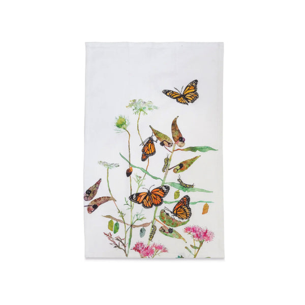 Monarch Butterfly Dishtowel