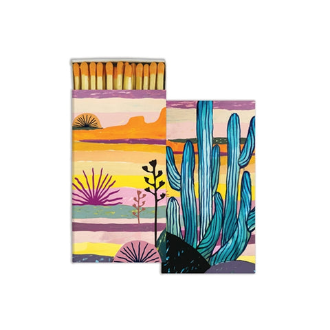 Desert Watercolor Boxed Matches
