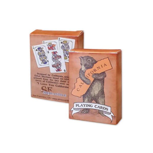 California Bear Playing Card Set