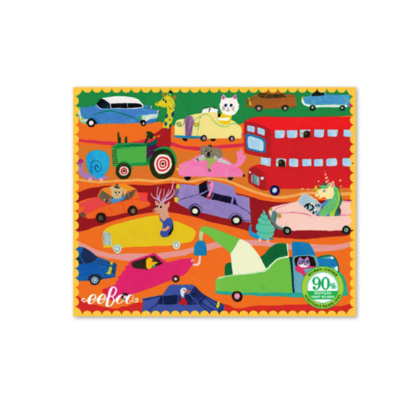 Animals in the City Mini Puzzle