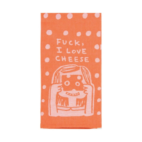 I Love Cheese Oven Mitt