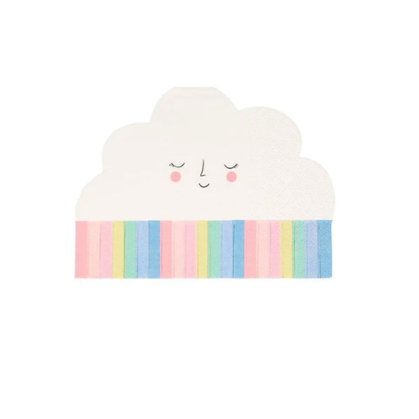 Cute Cloud Party Napkins
