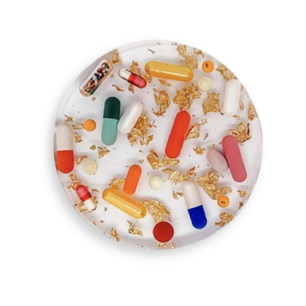 California Bear Cork Coaster Set