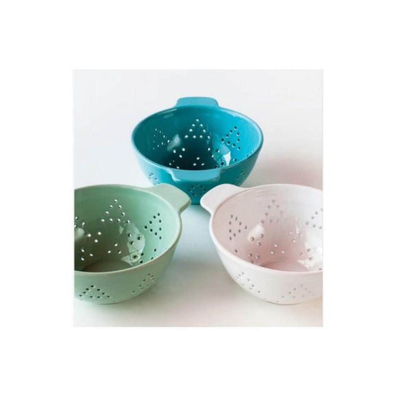 Beach House Ceramic Colander