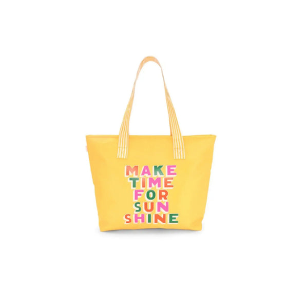Make Time for Sunshine Super Cooler Tote Bag