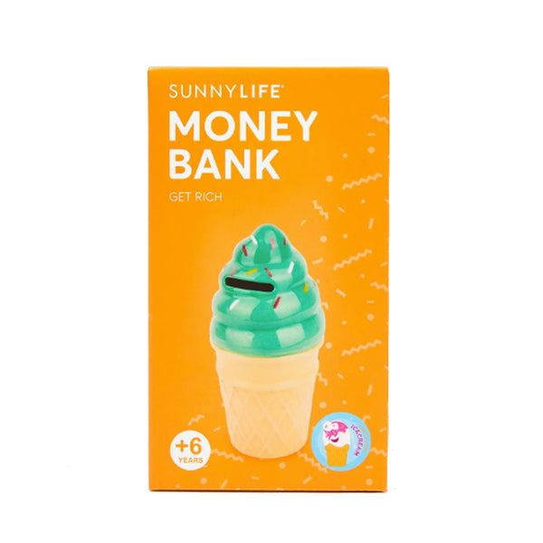 Ice Cream with Sprinkles Money Bank