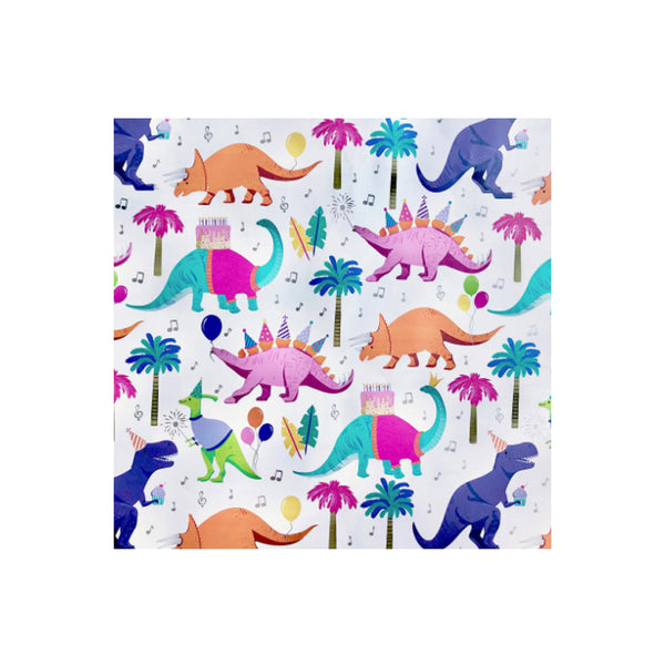Dinosaur Party Wrapping Paper Roll