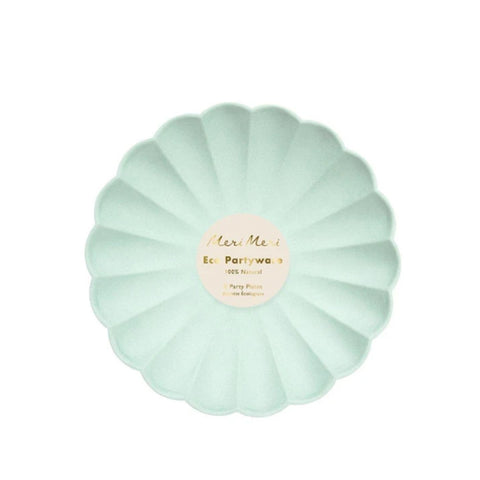 Simply Eco Mint Party Plates