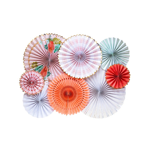Garden Party Fan Decoration Kit