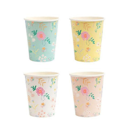 Wildflower Pastel Party Cups