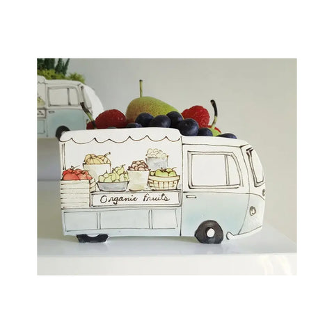 Vintage Fruit Truck Planter