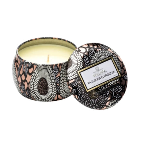 Japanese Gardenia Embossed Jar Candle