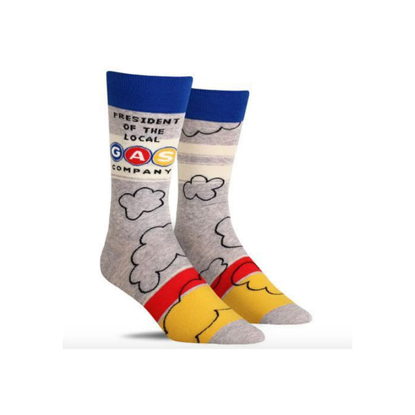 Local Gas Company Men's Crew Socks