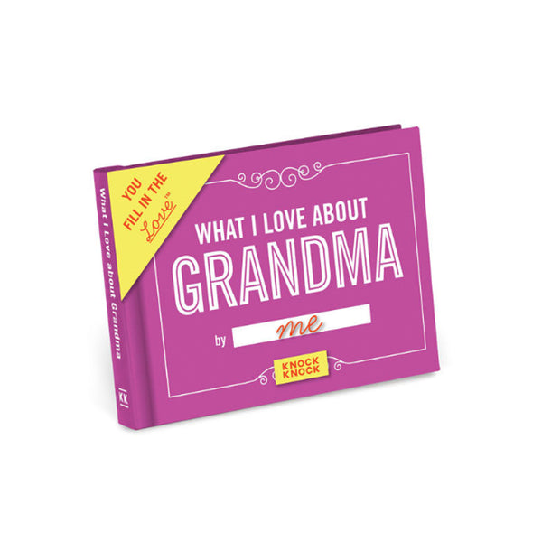 What I Love about Grandma Mini Journal