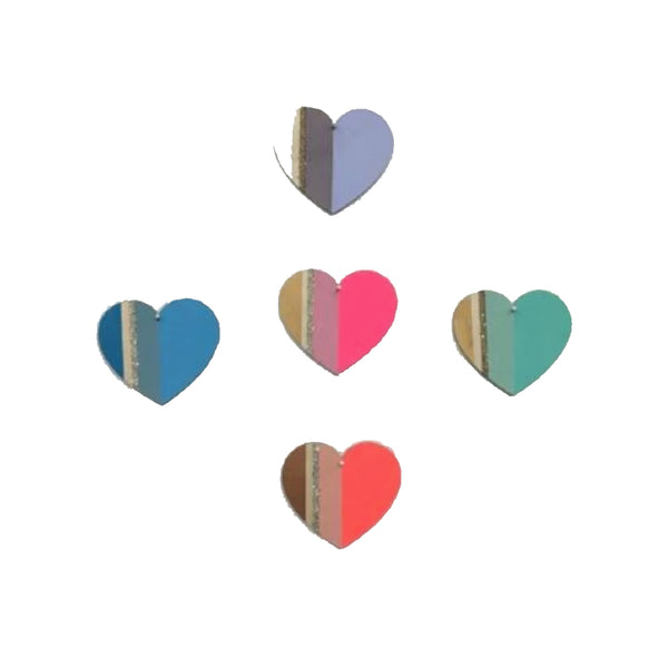 Assorted Heart 4 Bar  Cards