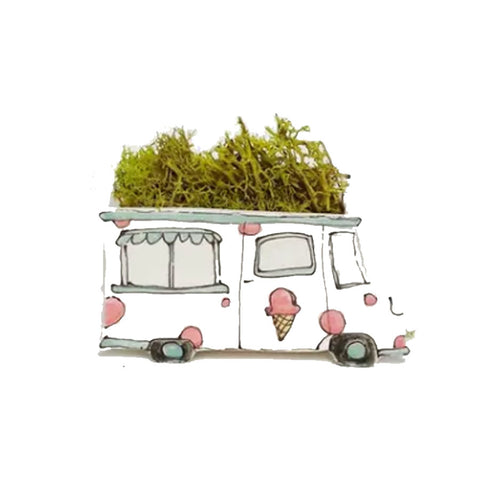 Ice Cream Truck Planter