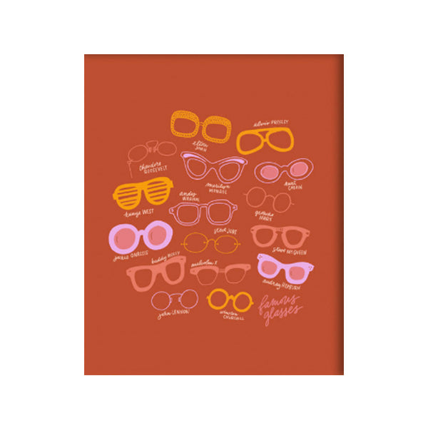 Famous Glasses Art Print