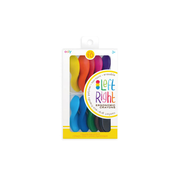 Left & Right Handed Crayon Set
