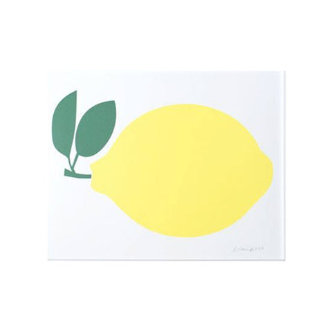 Fresh Lemon Art Print
