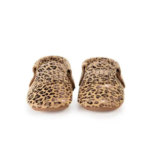 Leopard Spots Baby Moccasins