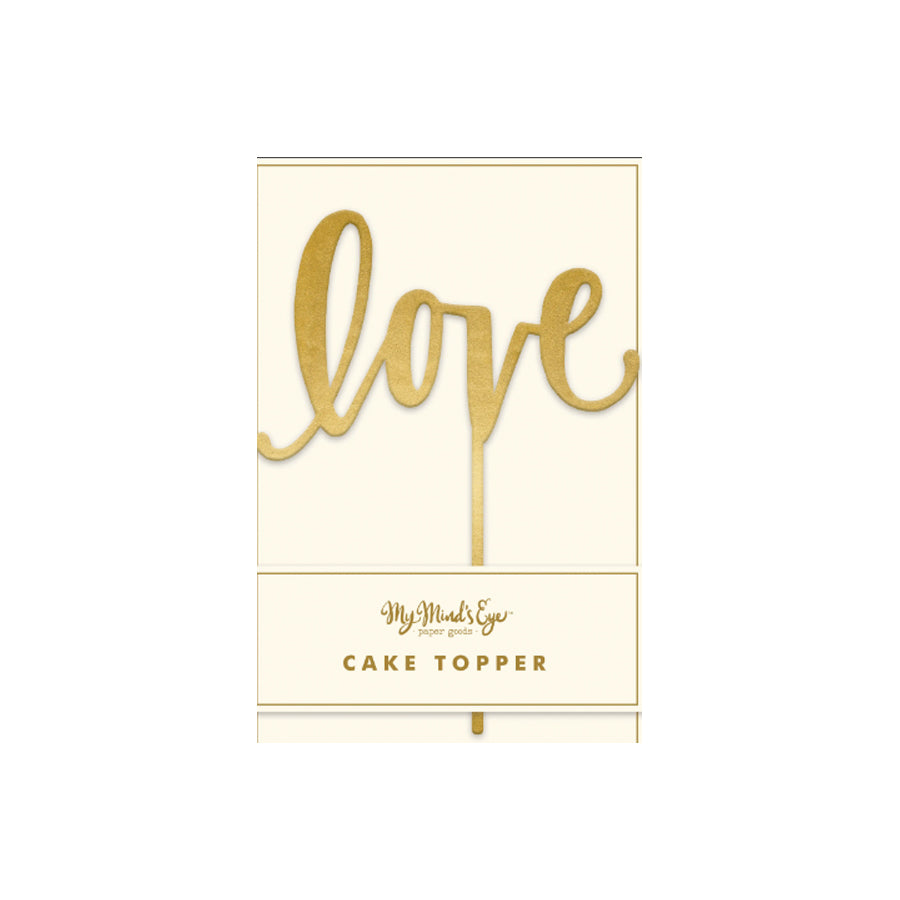Luxe Love Cake Topper