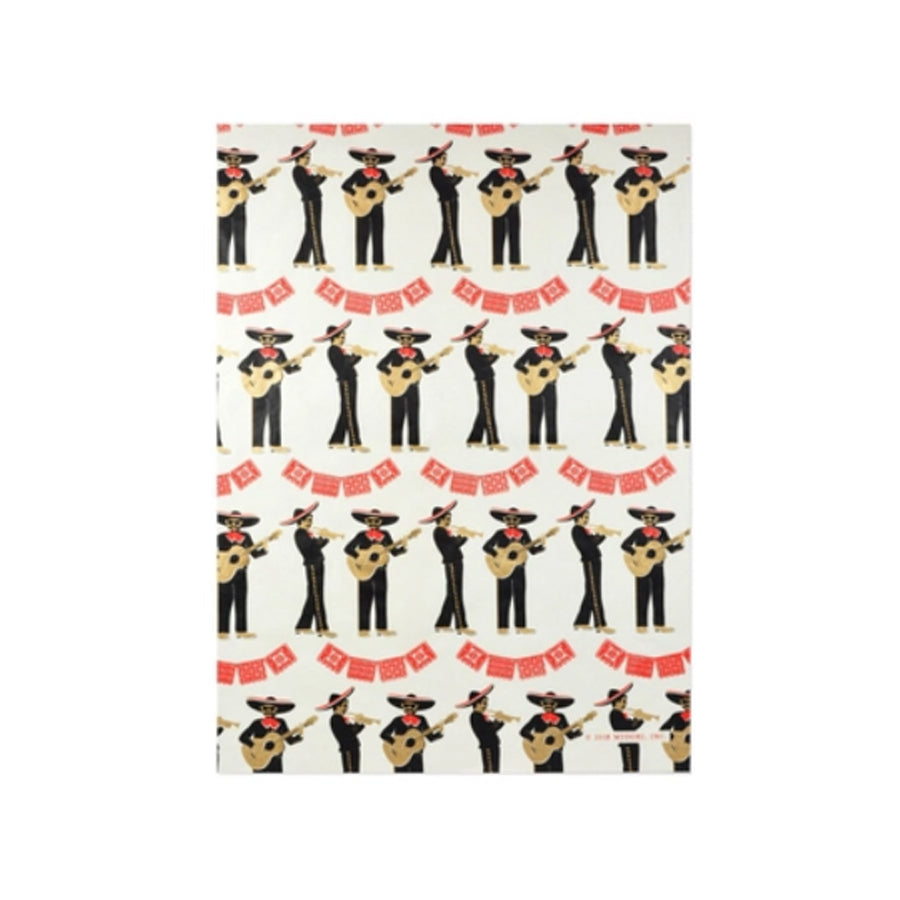 Fiesta Mariachi Wrapping Paper Roll