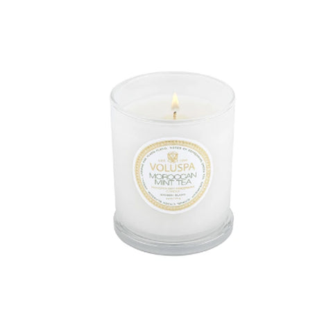 Moroccan Mint Tea Classic Glass Candle
