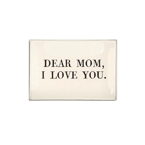 Dear Mom, I Love You Decoupage Tray