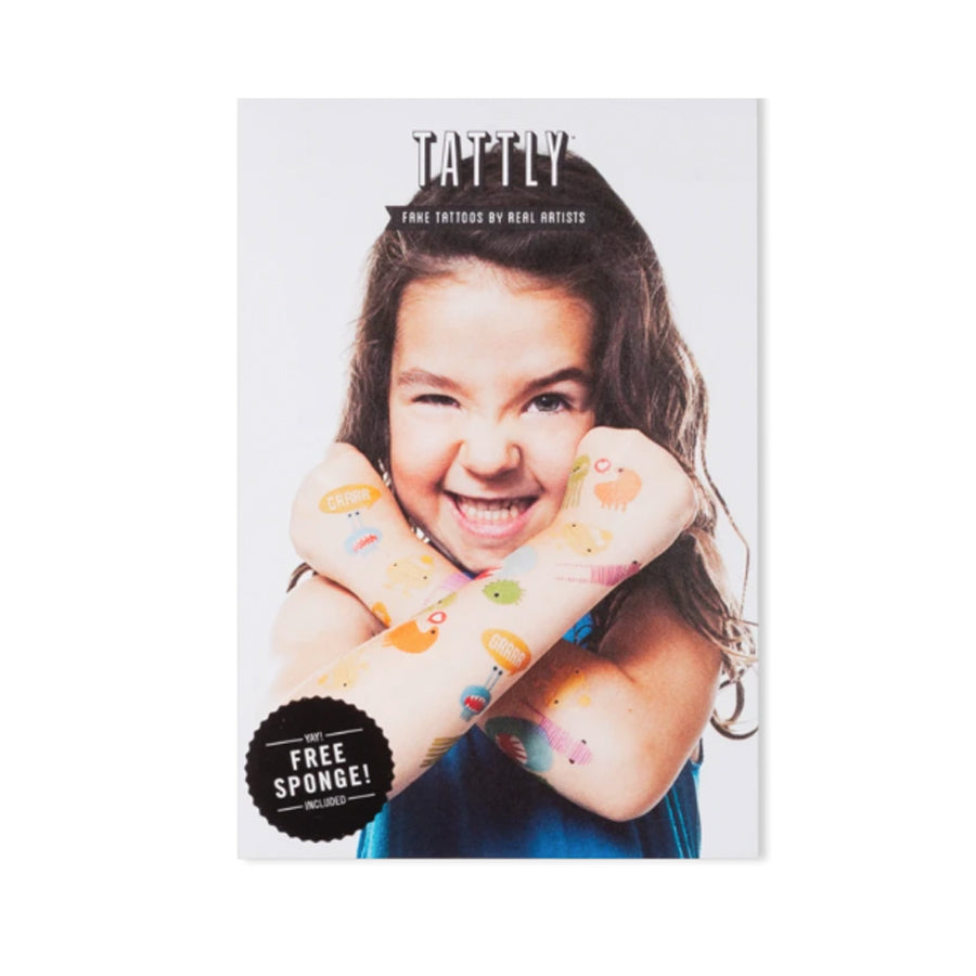 Party Monster Temporary Tattoo Set